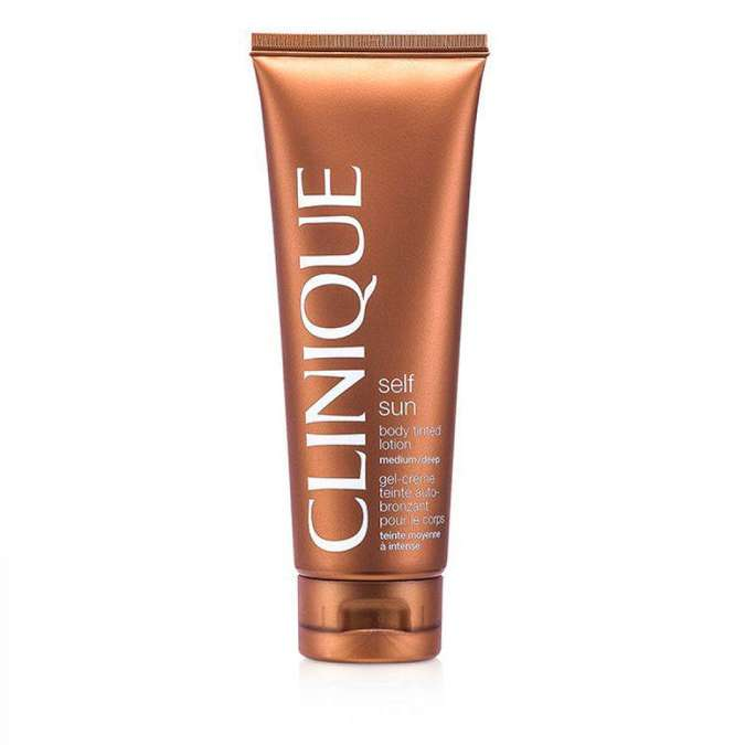 Clinique Self Sun Body Tinted Lotion (R$ 119)