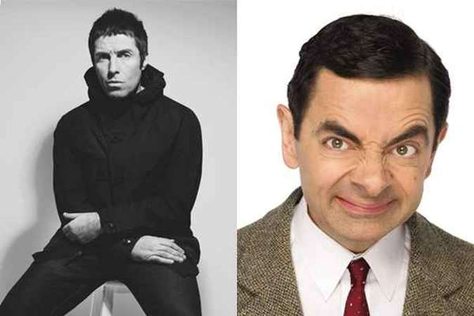 Liam Gallagher comenta que Mr. Bean e Noel Gallagher são parecidos(foto: Universal Pictures/UIP Rprodução/Internet)