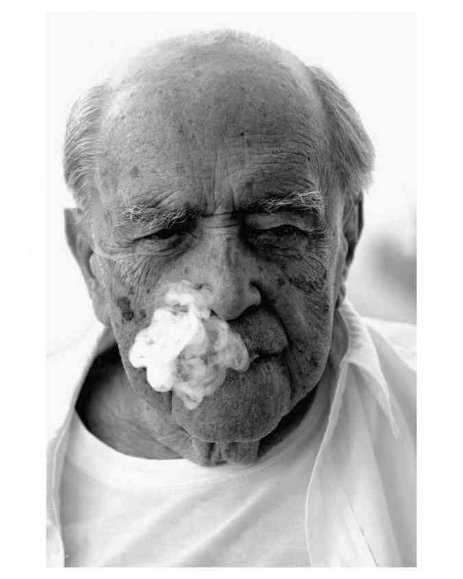 Exposição mostra o lado menos conhecido de Oscar Niemeyer(foto: Evandro Teixeira/Divulgação)