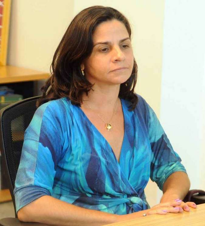 Adriana Villela, acusada de envolvimento no triplo assassinato, em 2009(foto: Adauto Cruz/CB/D.A Press - 15/12/2010 )