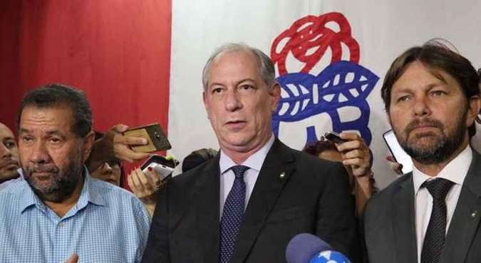 Ciro é visto com desconfiança(foto: Fatima Meira/Futura Press/Folhapress)