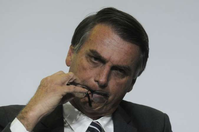 Integrantes da campanha afirmaram que Bolsonaro ficou irritado com o custo do evento: R$ 200 mil(foto: Ed Alves/CB/D.A Press)