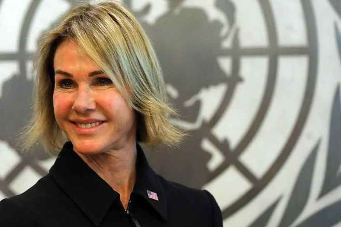Kelly Craft, nova embaixadora dos EUA na ONU(foto: Spence Platt/Getty Images/AFP)