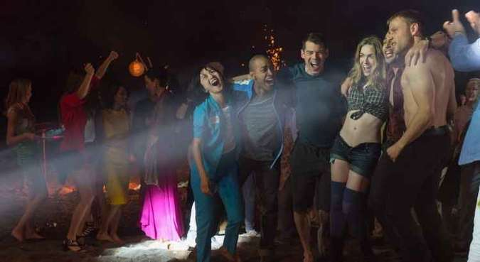 Cenas do especial de Natal de Sense8(foto: Murray Close/Divulgação)